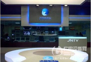 济南电视台高清新闻演播室